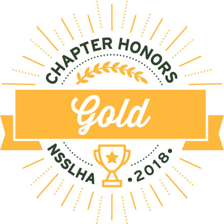 Idaho State University-Meridian's NSSLHA Chapter awarded national honor for raising awareness about communication disorders