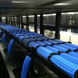 Well Organized Network Cables