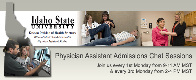 Physician Assistant Admissions Chat Sessions
