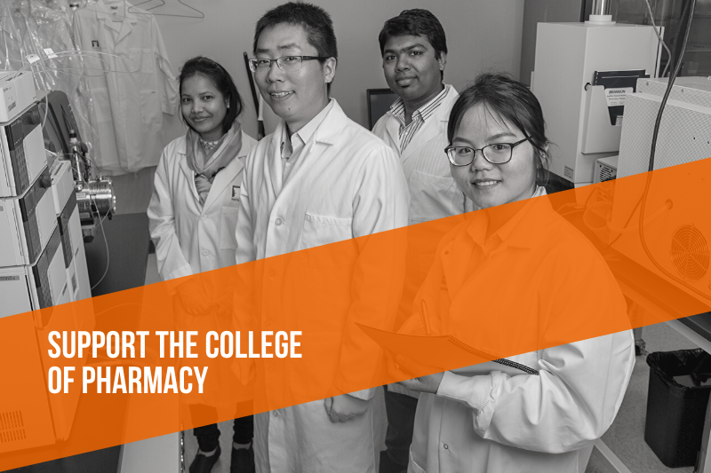 Support the college of pharmacy