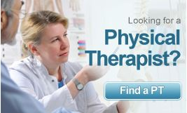 Looking for a Physical Therapist Find a PT