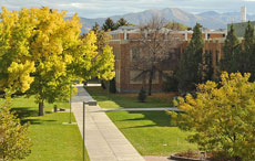 The quad in Fall