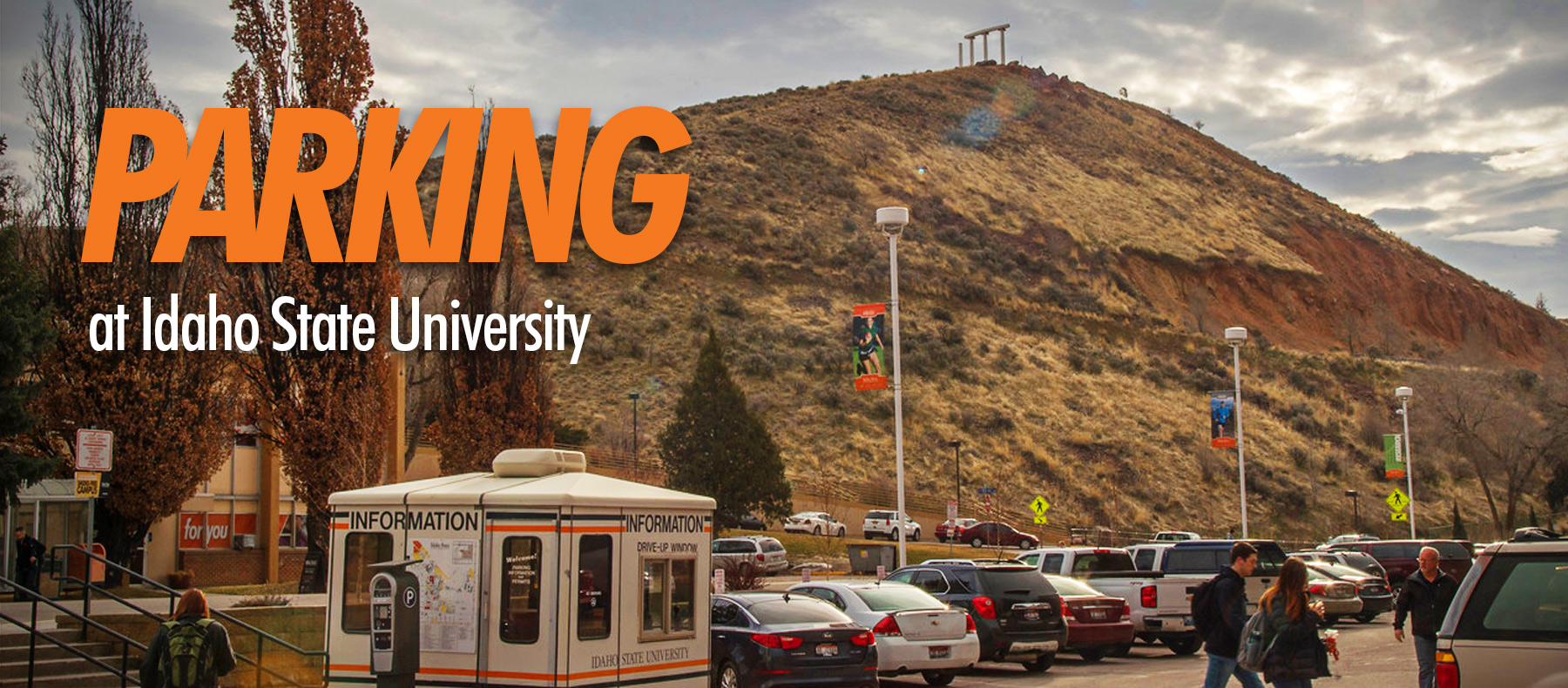 Parking at Idaho State University