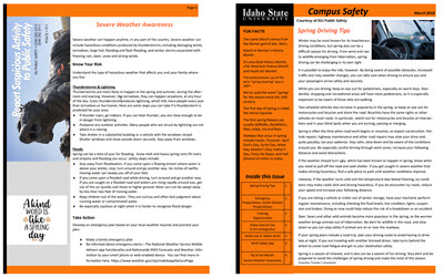 Safety Newsletters