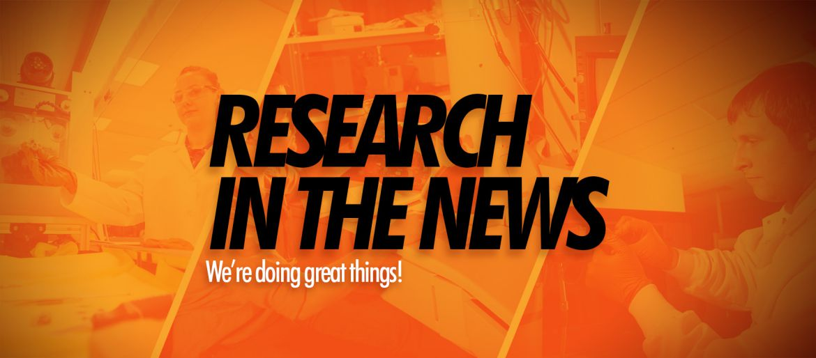 Research in the news image