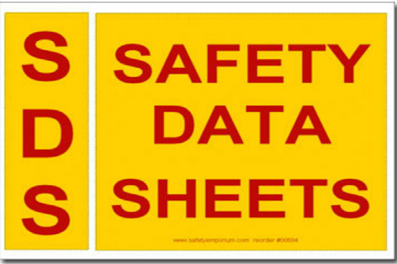 SDS: Safety Data Sheets