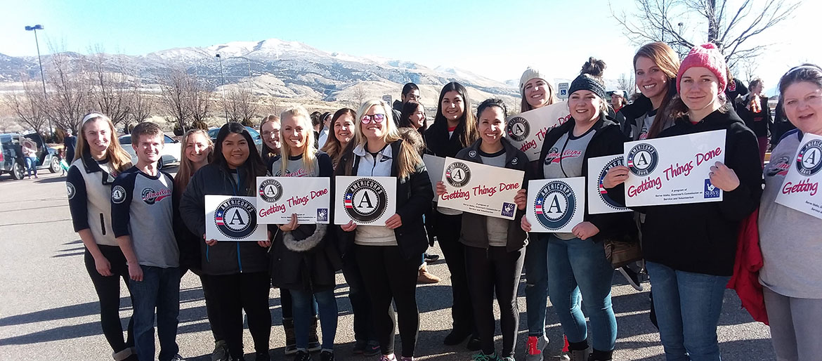 Americorps at MLK march