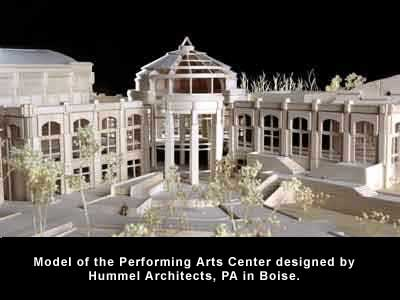 Model of Perfroming Arts Center