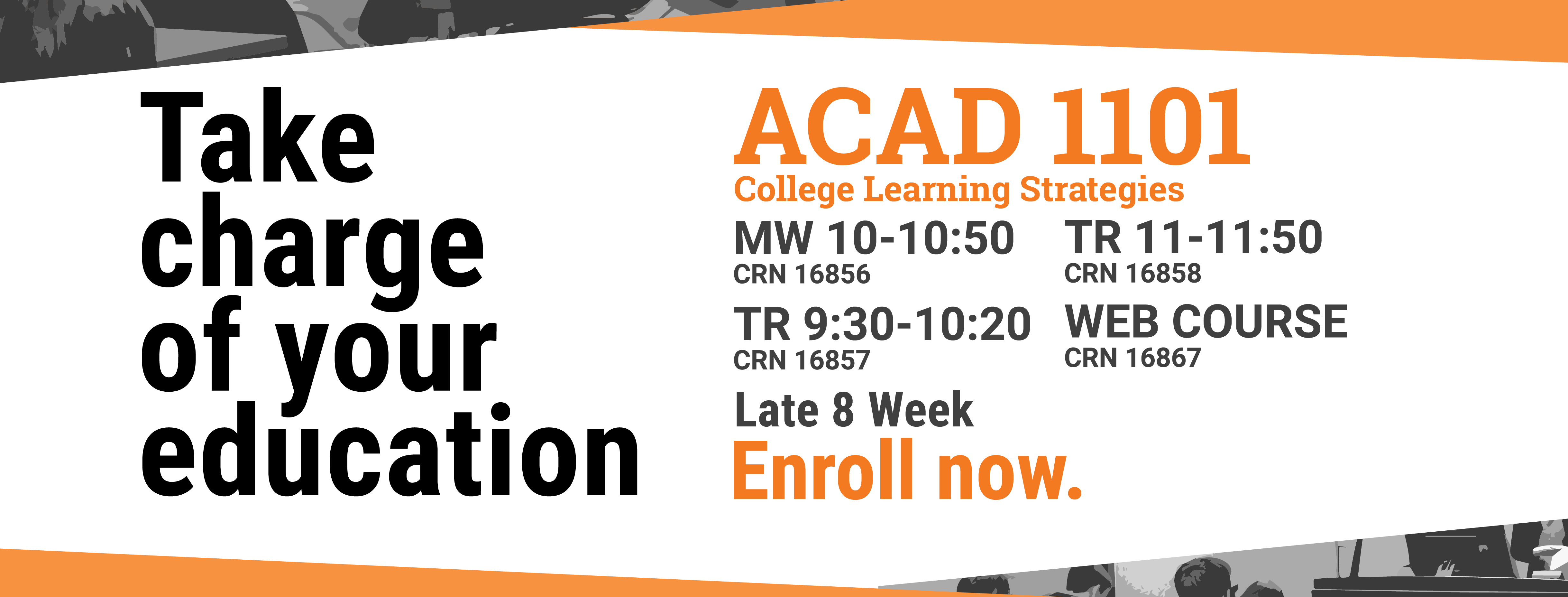 Enroll to ACAD 1101 College Learning Strategies  in bengal web