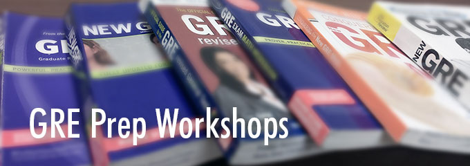 GRE Prep workshop