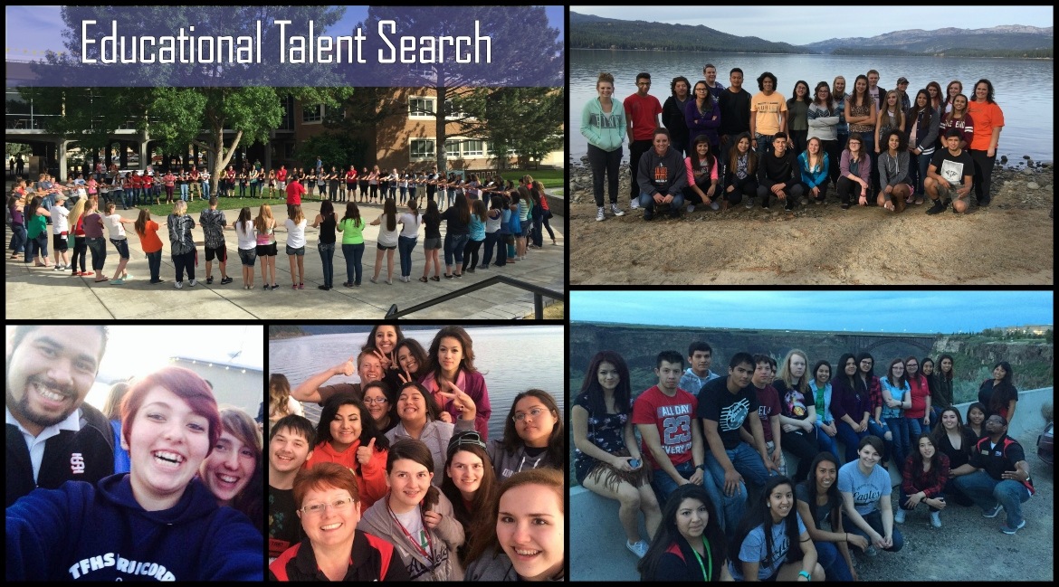 Educational Talent Search Student Group Picture