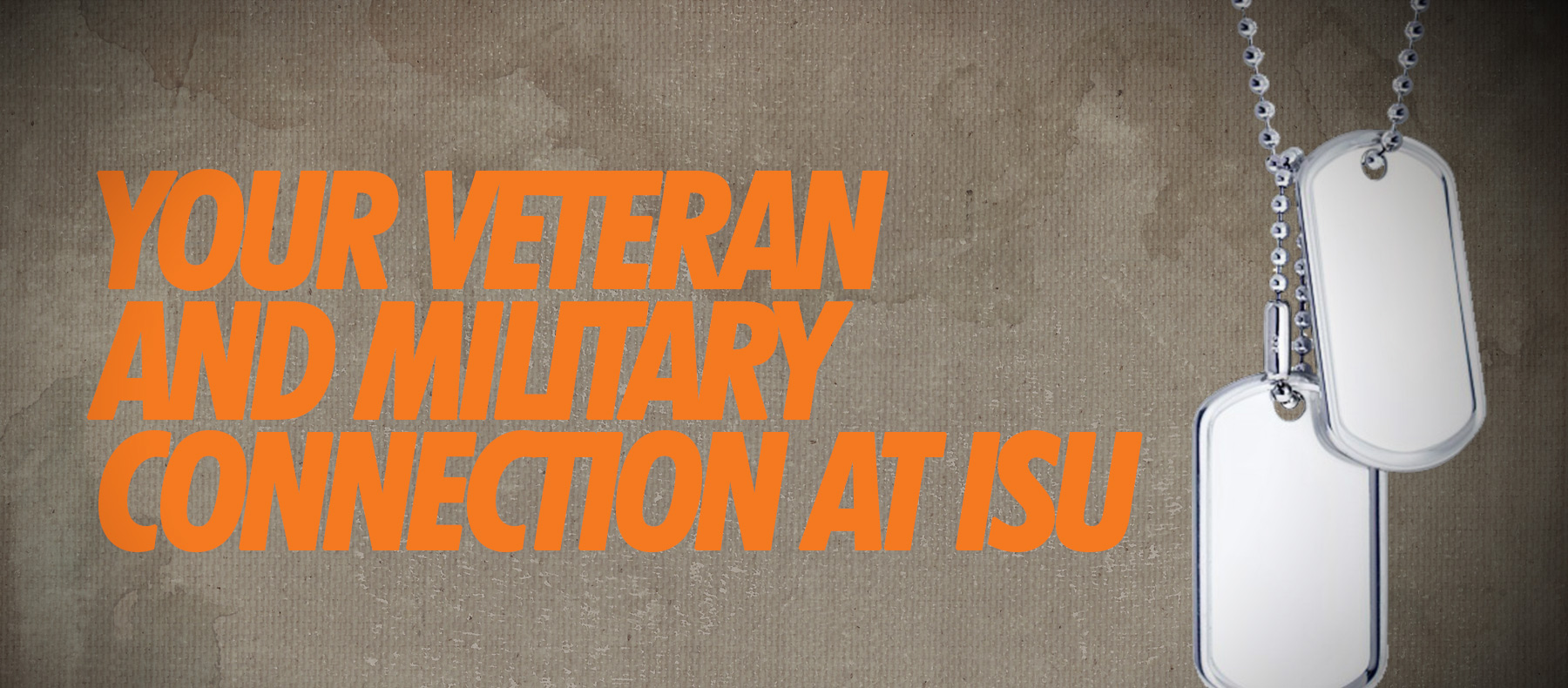 Your Veteran and Military Connection at ISU