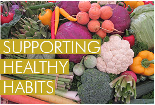 SUPPORTING HEALTHY HABITS