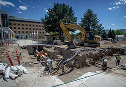 From the President: Campus Improvements