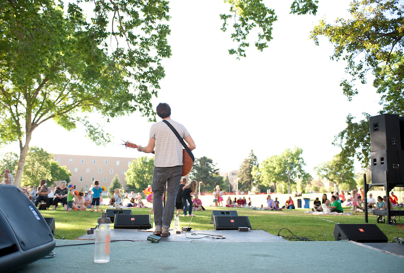 ISU's Summer Concert Series and BBQ held Thursdays on the Quad