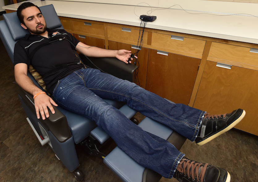 Idaho State University's Stress Management Biofeedback Center helps students manage stress