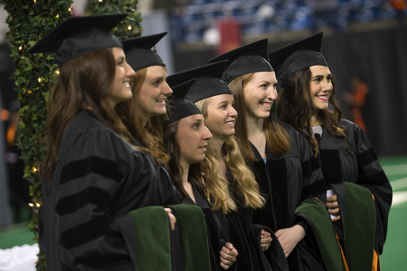 ISU conferred 2,538 degrees and certificates at 2016 commencement on May 7