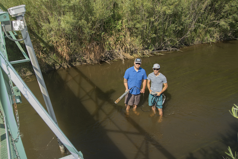 ISU student researchers work to improve Marsh Creek water quality
