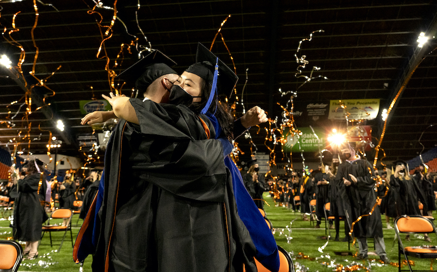 Idaho State University Graduates Recognized at Commencement Ceremonies Saturday