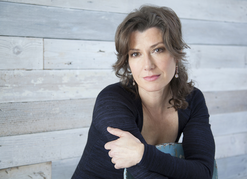 Portrait of Amy Grant.
