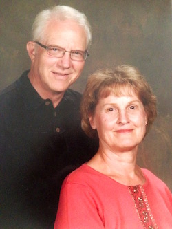 Alan Stanek and wife portrait