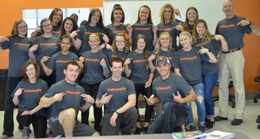 Idaho State University students promote #ChoosePT campaign to curb opiate abuse