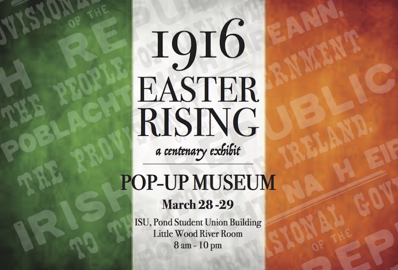Pop-up centenary exhibit to highlight 1916 Easter Rising