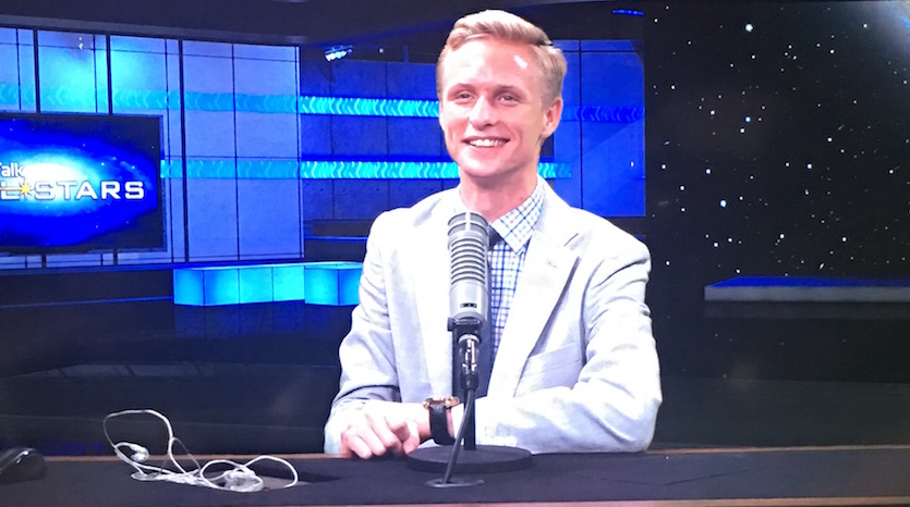 ISU's Kirk Long - future president of Mars begins work as StarTalk's newest intern