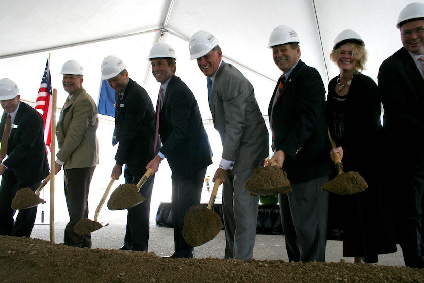 ICOM breaks ground on state's first medical school