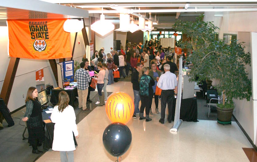 Record turnout for ISU-Meridian's Health Science Experience Night and Pharmacy Open House