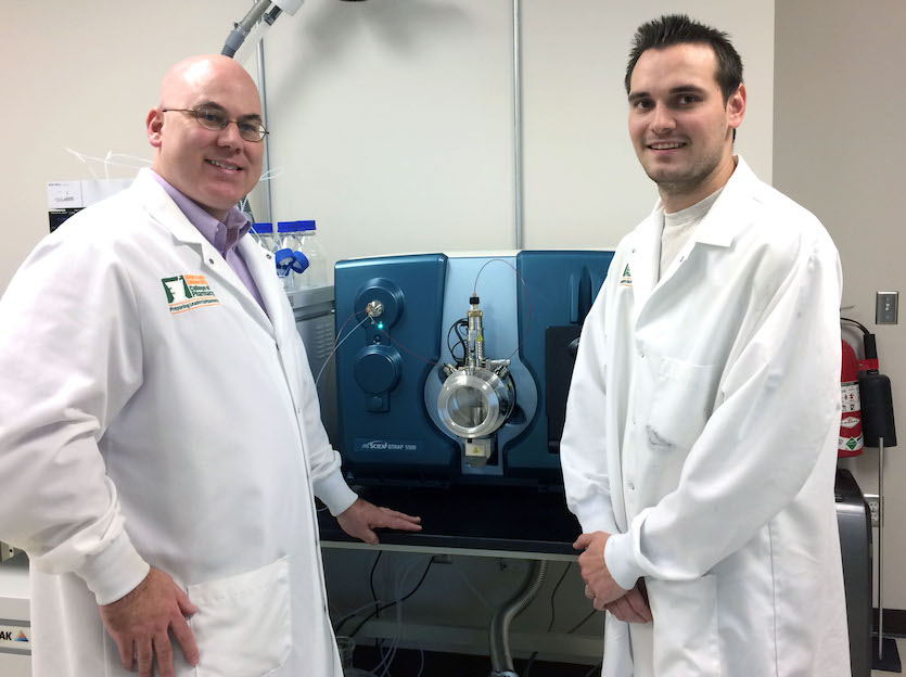 ISU-Meridian biomedical lab installs new high-tech research tool