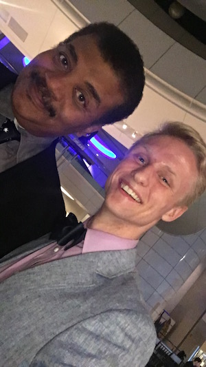 Kirk Long and Neil deGrasse Tyson