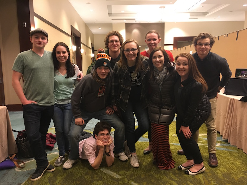 ISU theater students shine at regional Kennedy Center American College Theater Festival