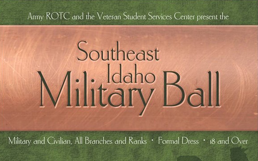 Idaho State University ROTC and Veteran Student Services Center to host Southeast Idaho Military Ball