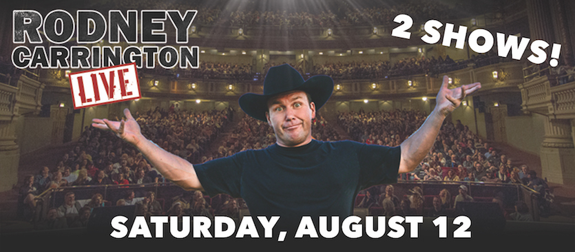 Comedian, musician Rodney Carrington to present two shows Aug. 12 at ISU Stephens Center