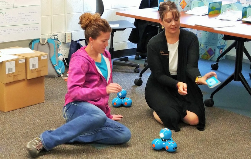 ISU College of Education faculty lead coding and robotics workshop for elementary teachers
