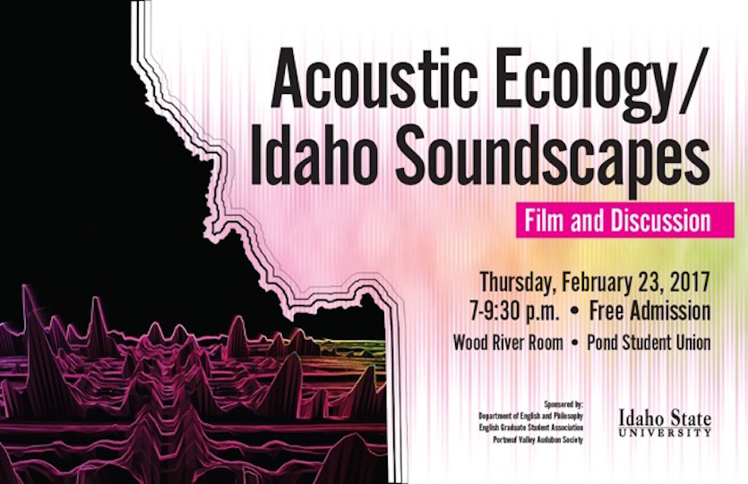 ISU to host discussion, film on Acoustic Ecology and Idaho Soundscapes on Feb. 23