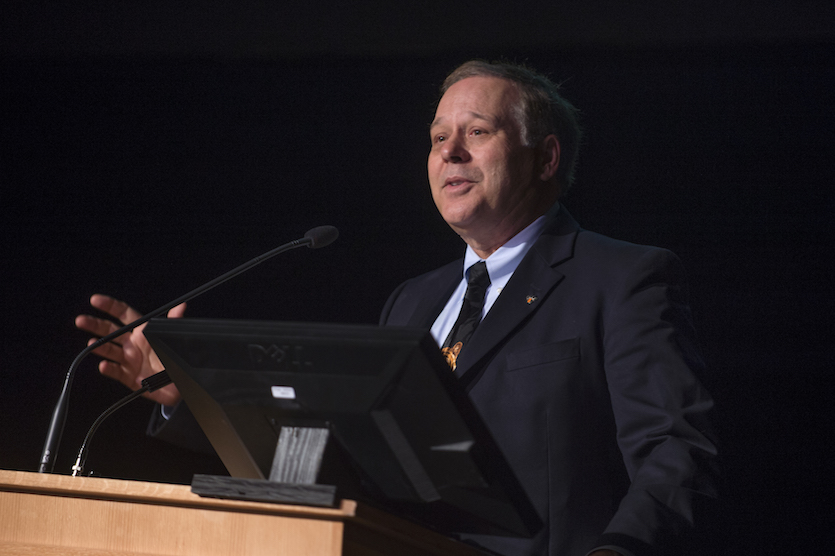 ISU President Arthur C. Vailas shares successes at annual State of the University address