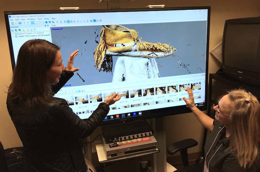 Idaho State University and Grand Teton National Park team up to create new 3-D imagery and documentation of Native American artifacts