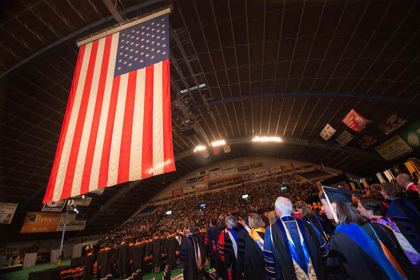 Idaho State University will confer 2,566 degrees and certificates at 2018 commencement on May 5
