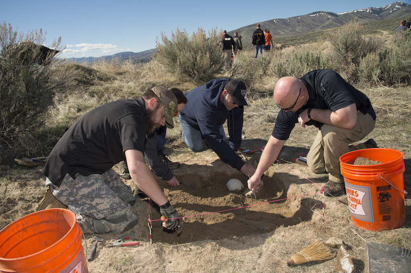 Idaho State University forensic anthropologists, law enforcement team up for forensic training