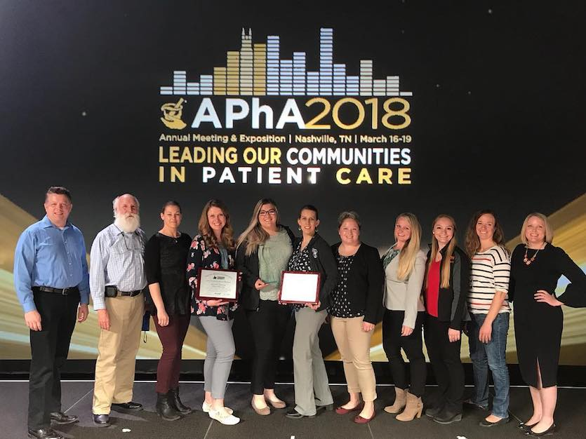 2018 Spring Idaho State University Student Pharmacists