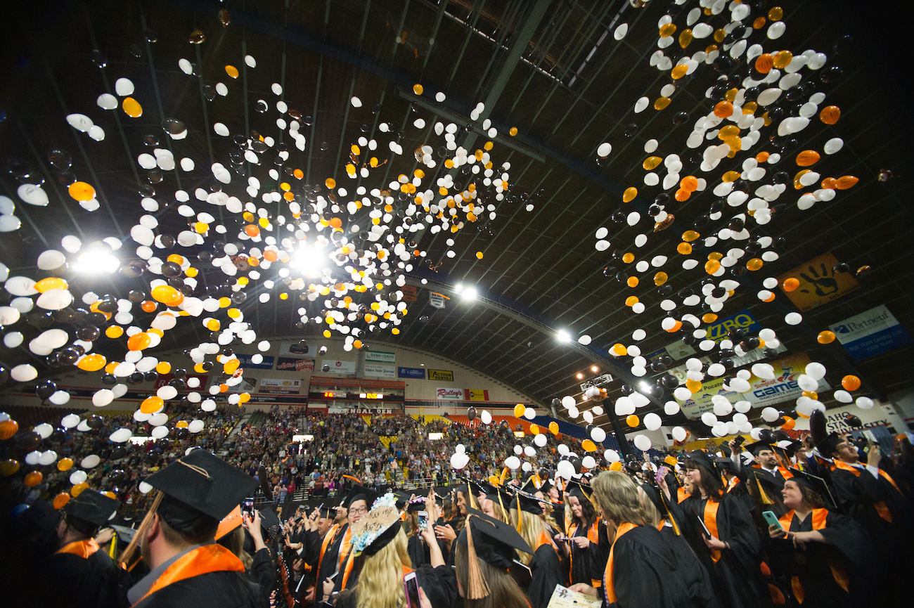 Idaho State University will confer 2,714 degrees and certificates at 2019 Commencement on May 4