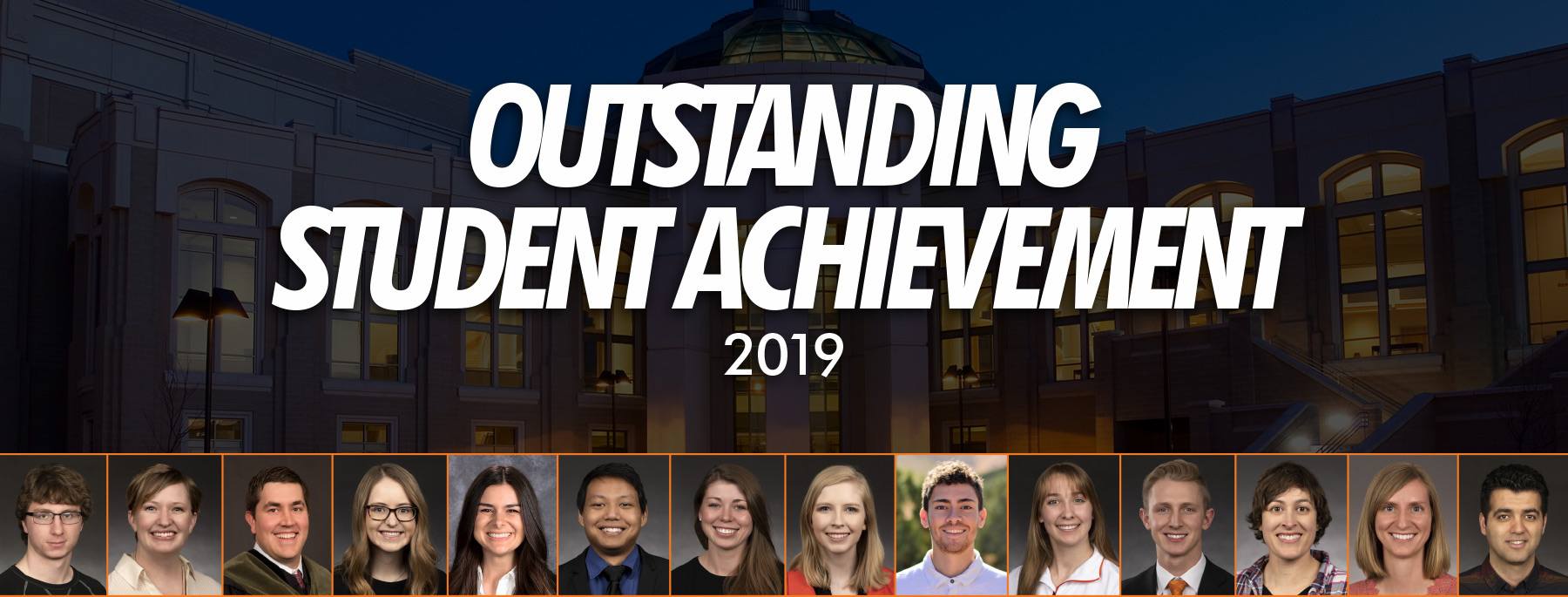 Idaho State University 2019 Outstanding Student Award recipients announced; banquet April 22