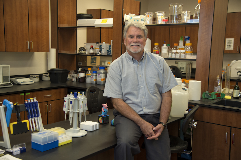 Idaho State University researcher Mark Austin seeks clues for combating depression and suicide