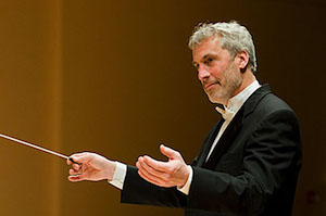 Pat Brooks conducting