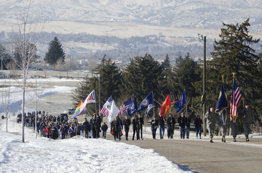 Idaho State University Martin Luther King Jr. march and program set Jan. 15