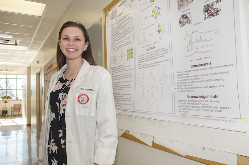 ISU chemistry major Emily Morley to present research on potential drug delivery system at national conference