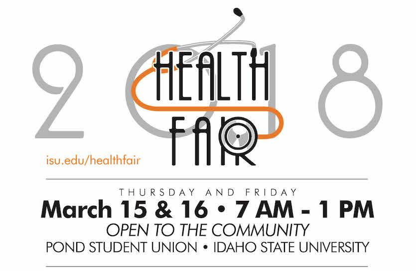 Idaho State University Health Fair set March 15-16, blood draws start March 1