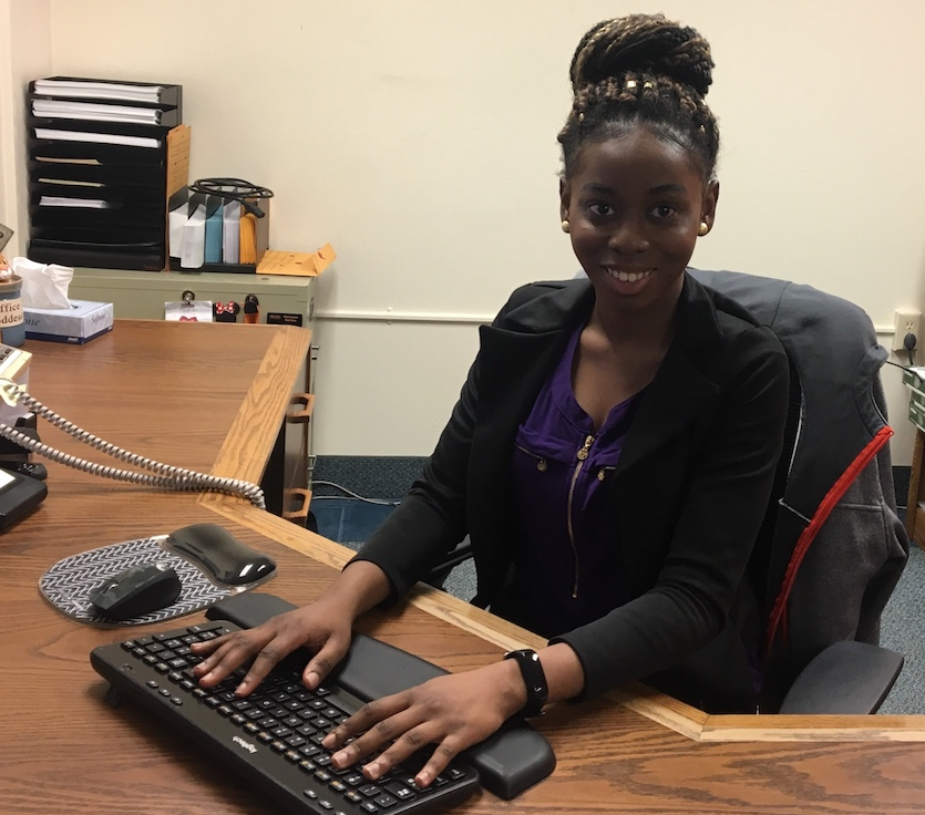 ISU's March Career Path Intern of the Month is Paula Arinze